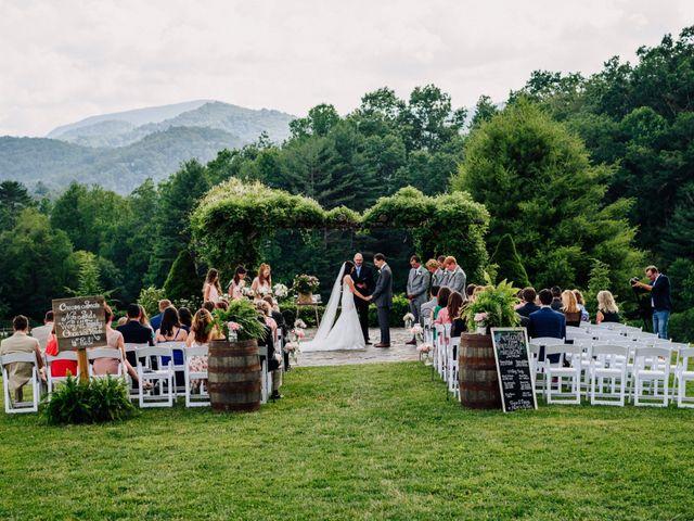 Paul and Marissa's Wedding in Glenville, North Carolina 1