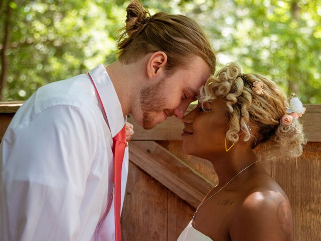 The wedding of Celeste and Tristan