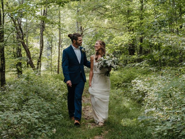 The wedding of Jenna and John