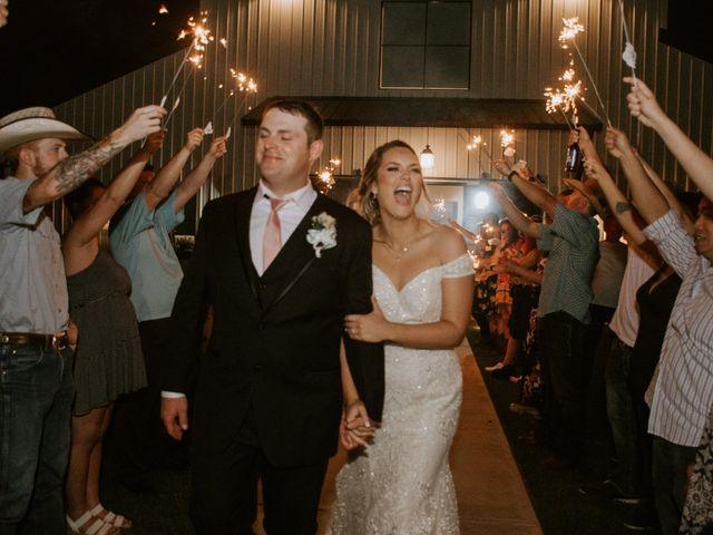 Cameron and Sonnie's Wedding in Celeste, Texas 3