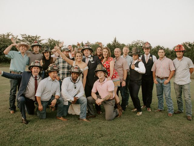 Cameron and Sonnie's Wedding in Celeste, Texas 8