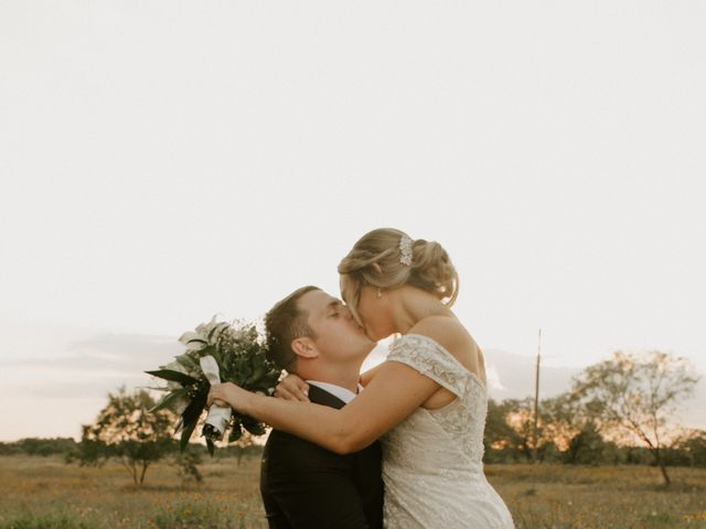 Cameron and Sonnie's Wedding in Celeste, Texas 12