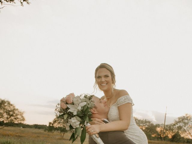 Cameron and Sonnie's Wedding in Celeste, Texas 16