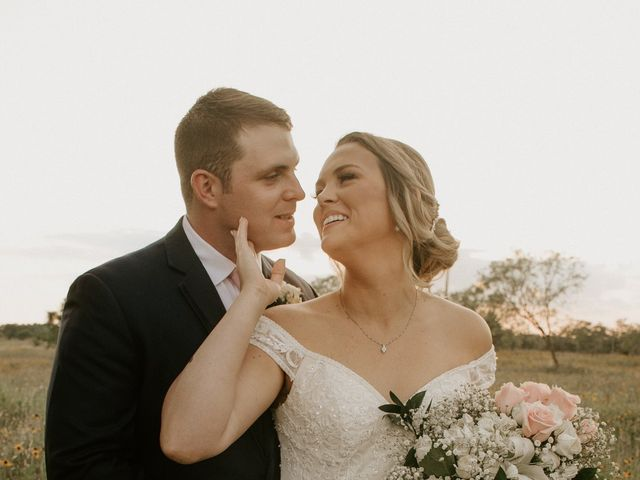 Cameron and Sonnie's Wedding in Celeste, Texas 23