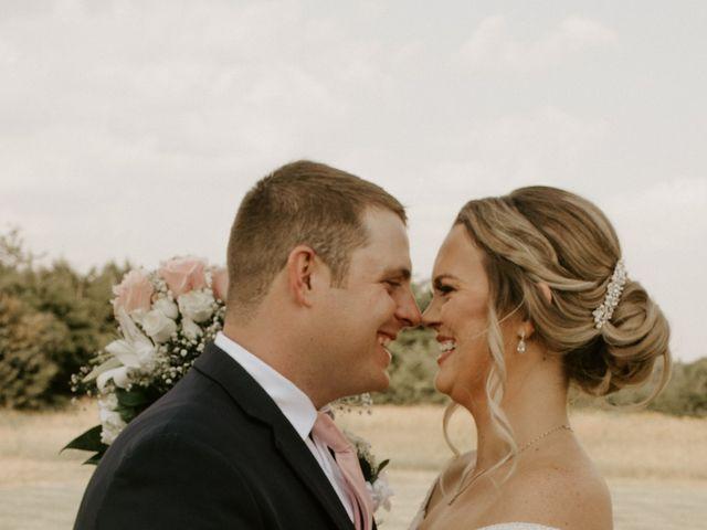 Cameron and Sonnie's Wedding in Celeste, Texas 37