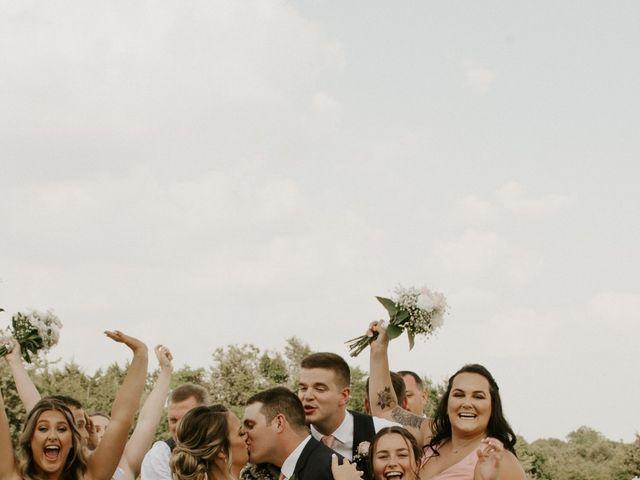 Cameron and Sonnie's Wedding in Celeste, Texas 1