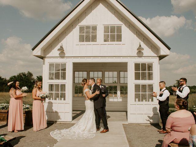 Cameron and Sonnie's Wedding in Celeste, Texas 48