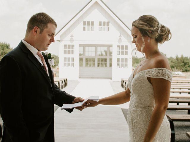 Cameron and Sonnie's Wedding in Celeste, Texas 74