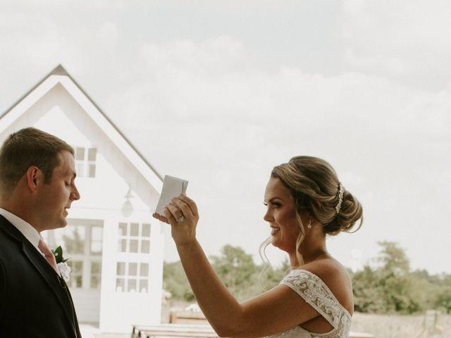Cameron and Sonnie's Wedding in Celeste, Texas 75
