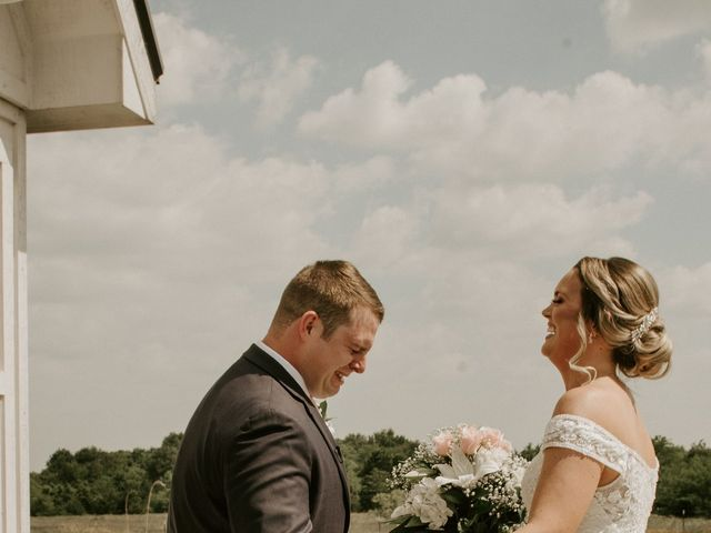 Cameron and Sonnie's Wedding in Celeste, Texas 85
