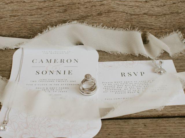 Cameron and Sonnie's Wedding in Celeste, Texas 128