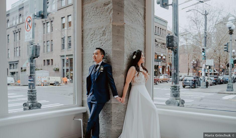 Matthew and Christie's Wedding in Seattle, Washington