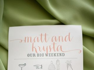 The wedding of Matt and Krysta 2