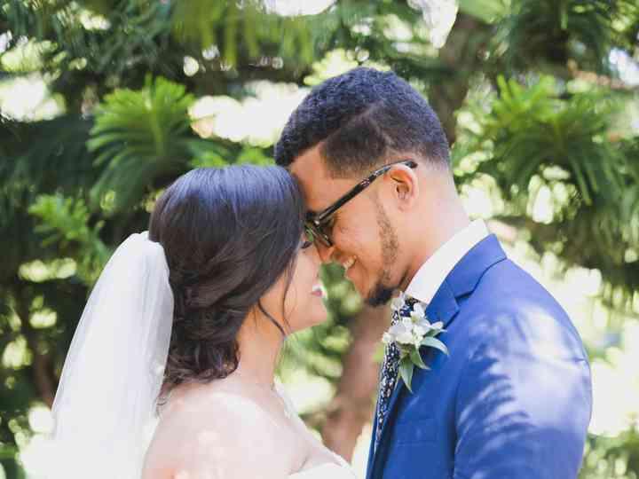 The wedding of Rosalie and Aldo