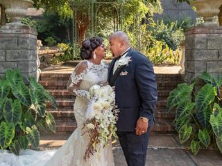The wedding of Dionne and Anthony