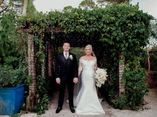 The wedding of Krystle and Jason