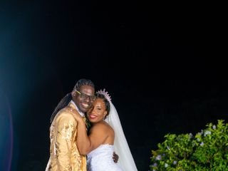 The wedding of Aldon and Withney 1