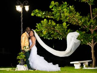The wedding of Aldon and Withney