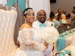 The wedding of David and Sharonda