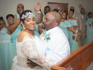 The wedding of David and Sharonda 2