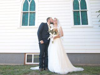 The wedding of Caitlyn and Jameson