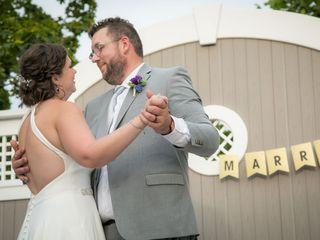 The wedding of Heather and Robert 1