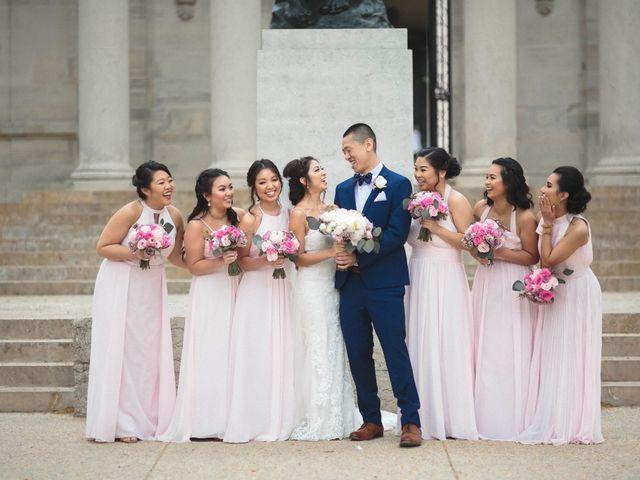 Kui and Irine's Wedding in Philadelphia, Pennsylvania 19