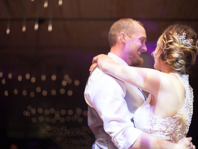 The wedding of Amber and Dustin