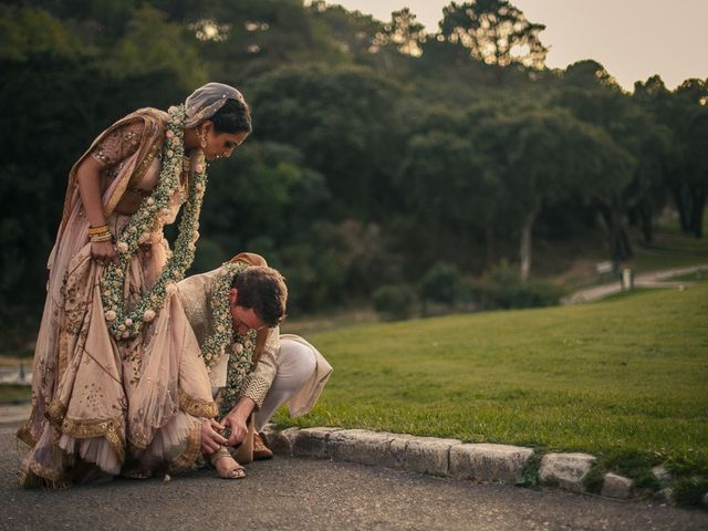 Brian and Saloni's Wedding in Sintra, Portugal 44