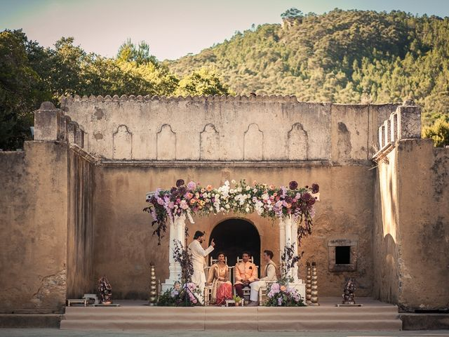 Brian and Saloni's Wedding in Sintra, Portugal 46