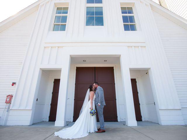 The wedding of Heather and Robert