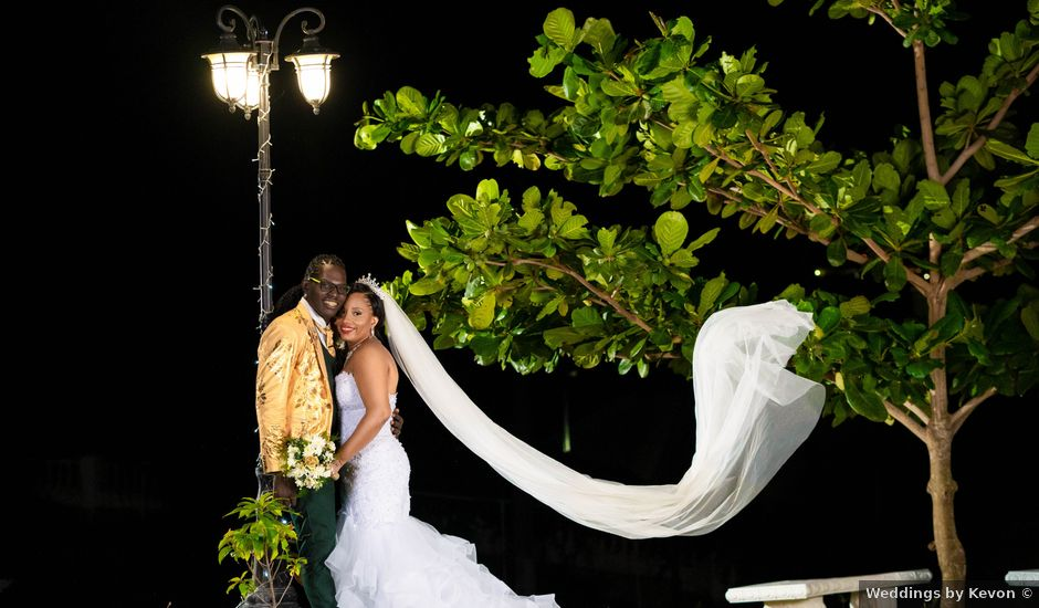 Withney and Aldon's Wedding in Runaway Bay, Jamaica