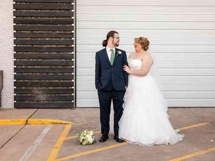 The wedding of McKenzie and Isaac