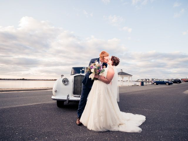The wedding of Heather and Cory