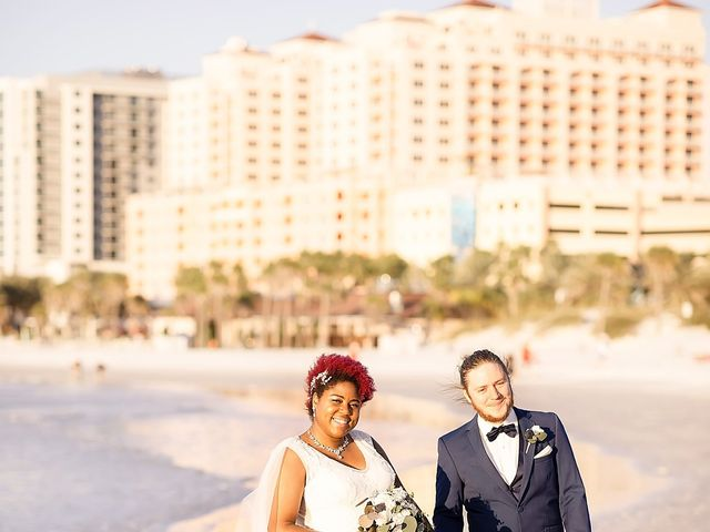 Kandrea and Colin's Wedding in Clearwater, Florida 8