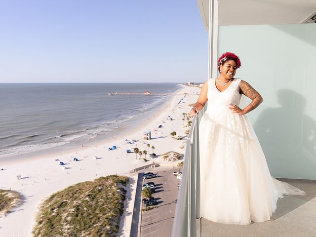 Kandrea and Colin's Wedding in Clearwater, Florida 30