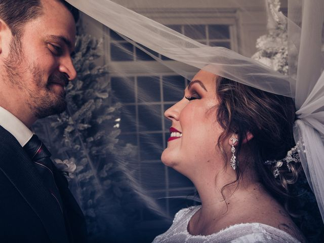 The wedding of Jessica Eckbold and Jason Eckbold