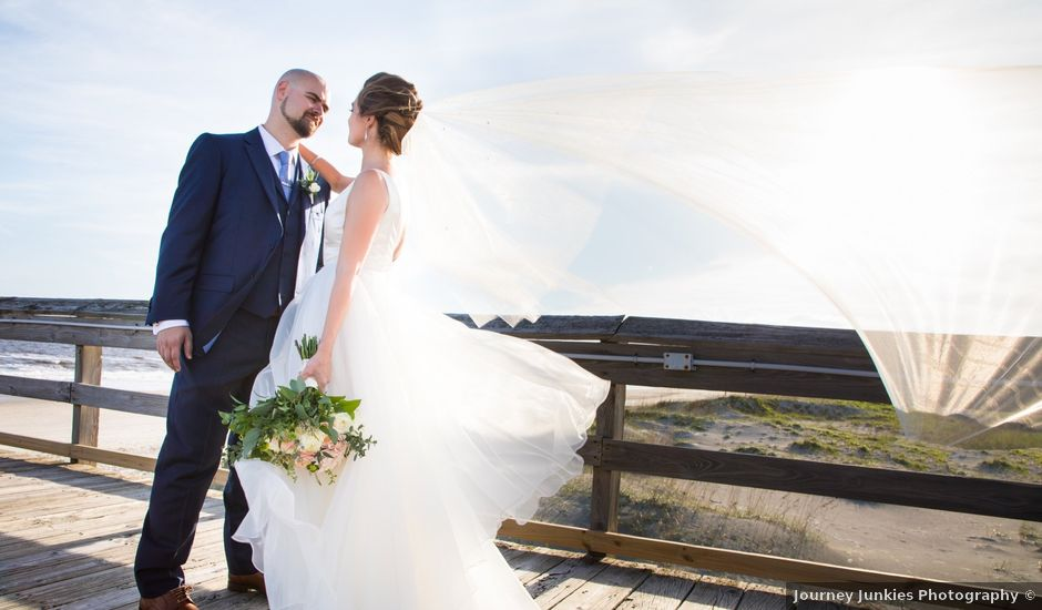 Dakota and Meredith's Wedding in Ocean Isle Beach, North Carolina