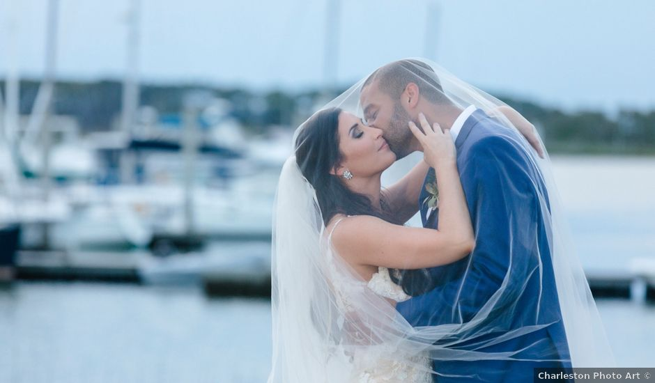 Brandon and Allison's Wedding in Charleston, South Carolina