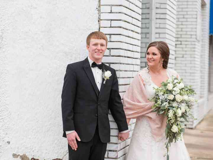 The wedding of Anthony and Haleigh