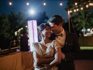 The wedding of Ruchi and Alan