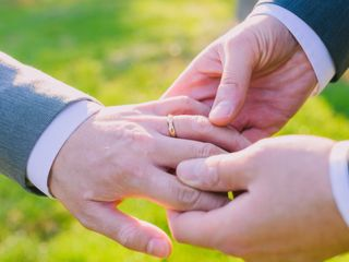 The wedding of Edward and Jason 1