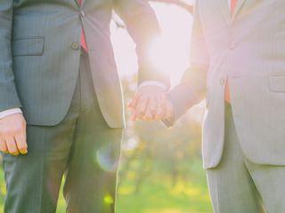The wedding of Edward and Jason 3