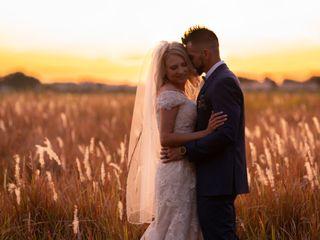 The wedding of Jake and Heather