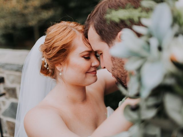 The wedding of Jaclyn and Andrew