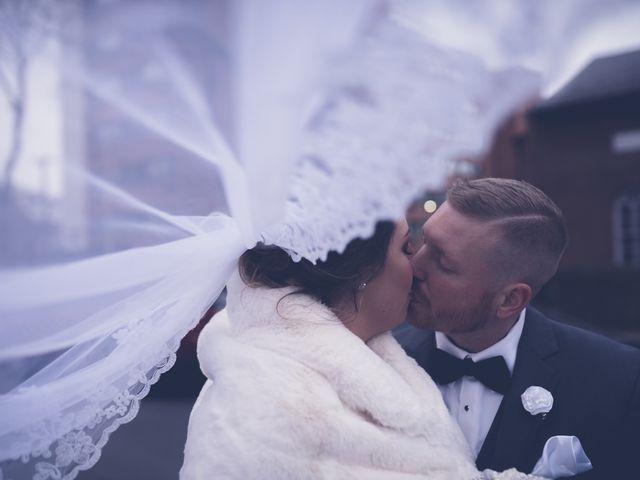 The wedding of Alysha and Chris