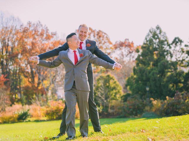 Jason and Edward's Wedding in Flushing, New York 8