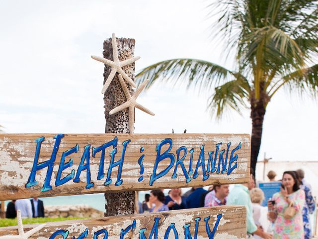 Brianne and Heath's Wedding in Nassau, Bahamas 8