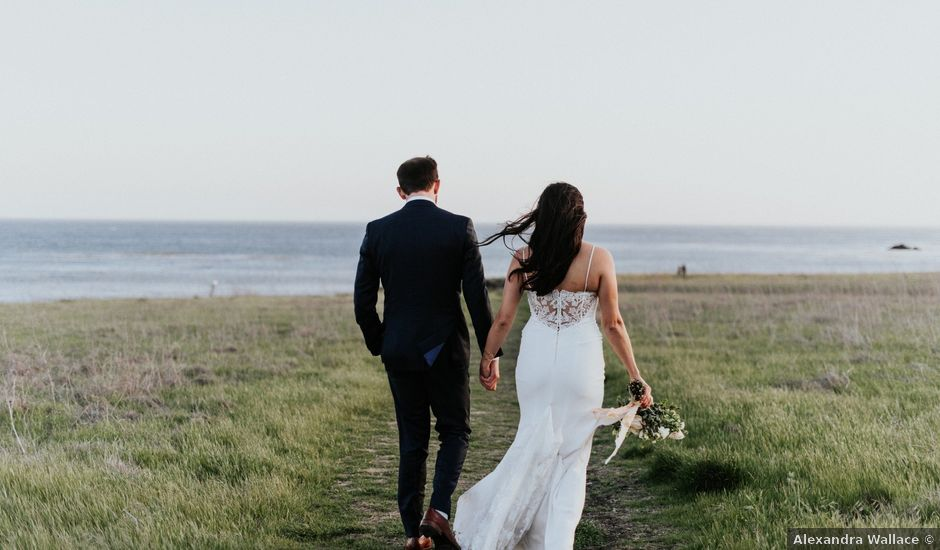 Nick and Leilani's Wedding in Cayucos, California