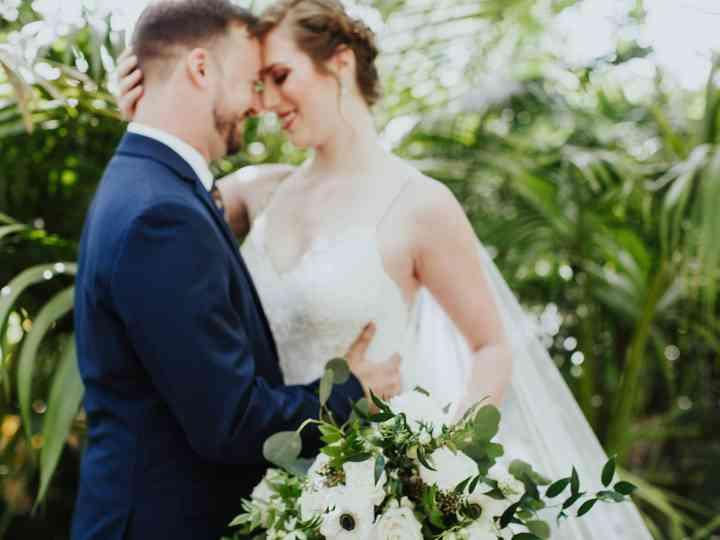 The wedding of Pamela and Stephen